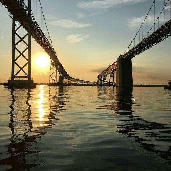 Chesapeake Bay Bridge - Annapolis, Maryland