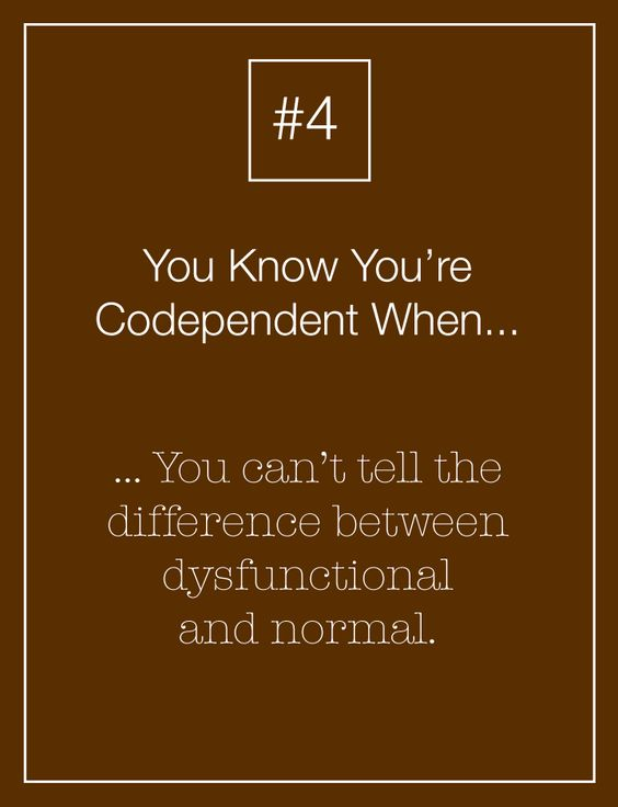 "codependency and truth The word ""codependent"" gets thrown around a lot when discussing unhealthy relationships and while there isn't an exact definition for codependence, it goes much deeper than simply being a."