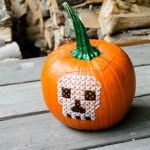 Embroidered pumpkins – how cool!