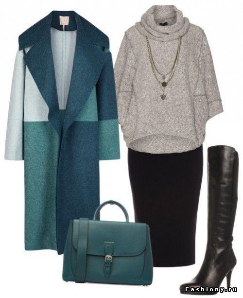 10 теплых образов со свитерами и джемперами