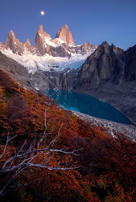 A tribute to Mt. Fitz Roy - Patagonia Argentina on Behance