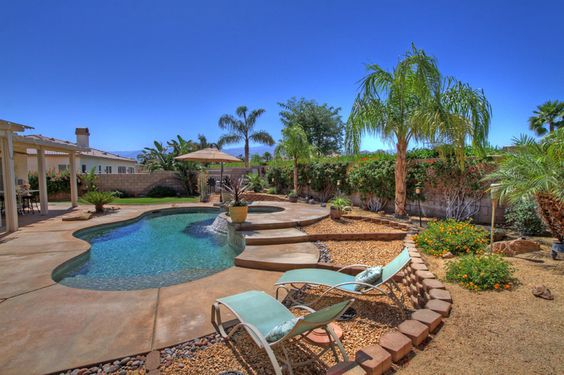 GATED ESPLANADE IN N. LA QUINTA This immaculate & highly upgraded home offers approx. 2600 SF w/ 4BR+den (can be 5th BR) & 3BA. Fabulous entertainers backyard with pool/spa/BBQ & panoramic mountain views. Offered at $525,000  SOLD!