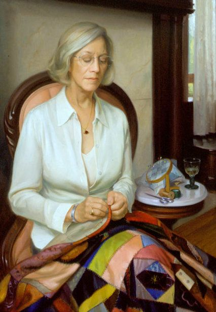 Portrait Of My Mother by Patricia Watwood