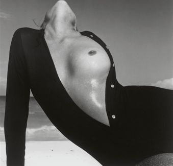 Lauren Hutton by Richard Avedon