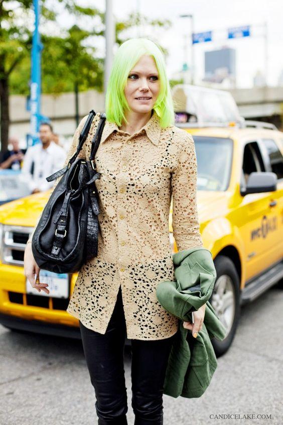 lime green hair: Hair Colorss, Lime Green Hair, Amazing Hair, Hairstyle, Beautiful Green, Beautiful Hair, Neon Hair