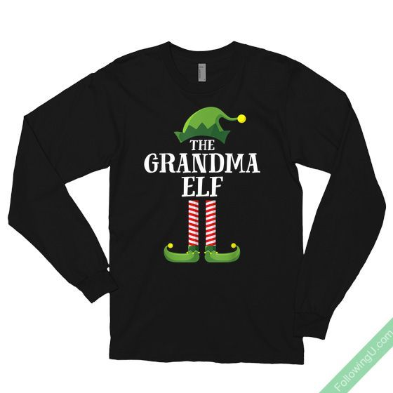 Mom Elf Matching Family Group Christmas Party Pajama Unisex Hoodie