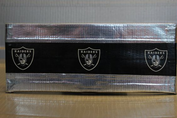 Duct Tape Wallet  Oakland Raiders by JunorDuck on Etsy, $15.00