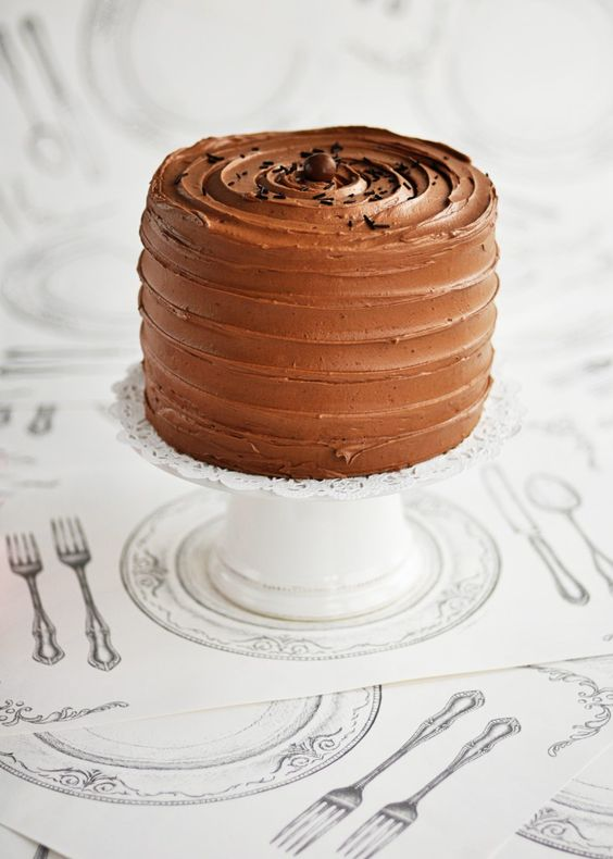 Beautifully iced: 6-Layer Rich Chocolate Malted & Toasted-Marshmallow Cake