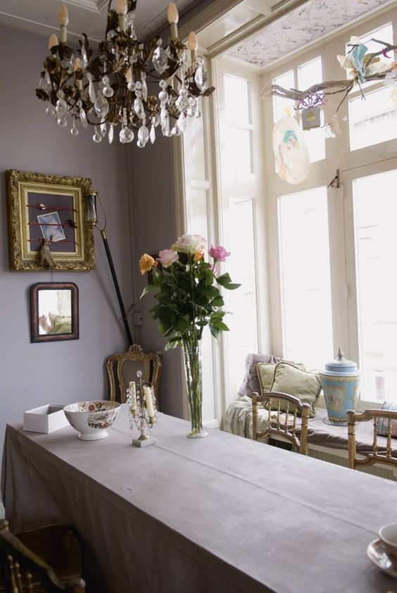 picture frame as inspiration board (zoom) in to see it - Haute Design by Sarah Klassen