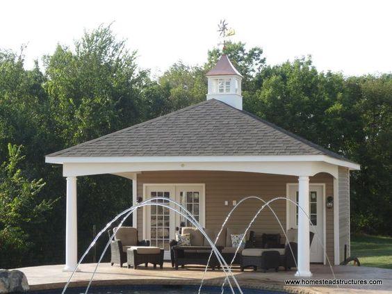 Avalon Pool Houses | Photos | Homestead Structures