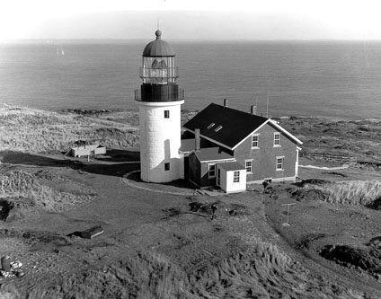 Seguin Light, Seguin Island, Maine.