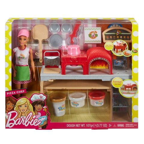Colourful Accessories Barbie Careers Playdoh Stacie Doll