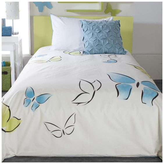 Collection kallima housse de couette ensembles de for Housse de duvet