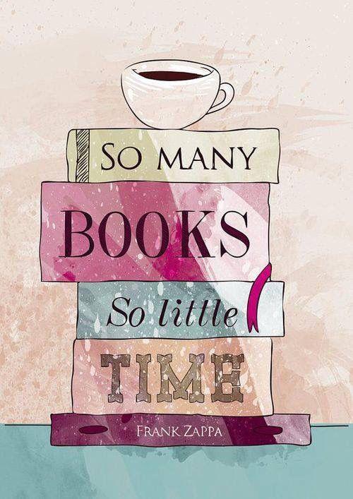 Tantos livros, tão puco tempo