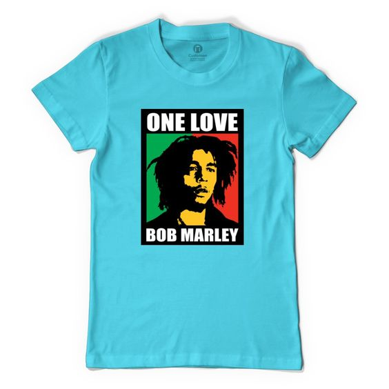 One Love Bob Marley Women's T-shirt
