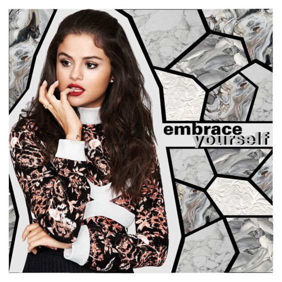 """""""Kill me with kindness"""" by embrace-yourself ❤ liked on Polyvore featuring art and selenagomez"""