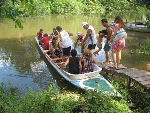 Panoramio - Photos by benedito carlos Coronel > imagem abaetetuba- rio tauera