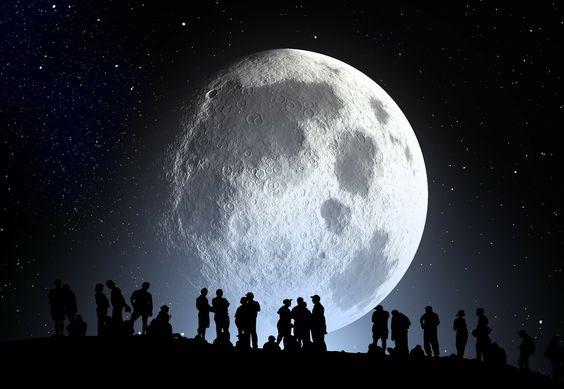 Lua, Humanos, Mundo!