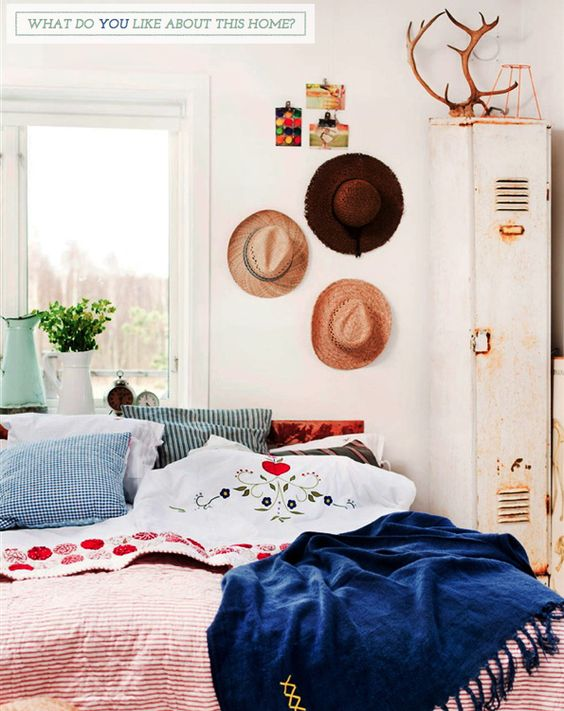 Bright.Bazaar: Home Tour: Relaxed Swedish Country Style