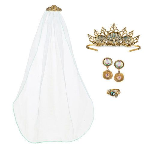 They Ll Love Dressing Up As Ariel On Her Wedding Day With This
