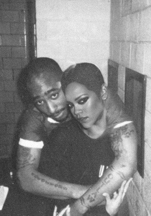 Tupac Shakur & Rihanna...gotta be Photoshop | King tupac ...