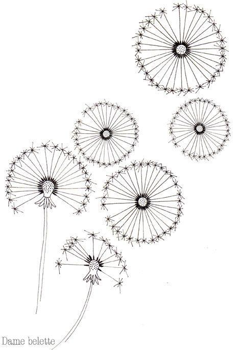 Des pois, des fleurs... et des pissenlits - Argile & Barbotine: