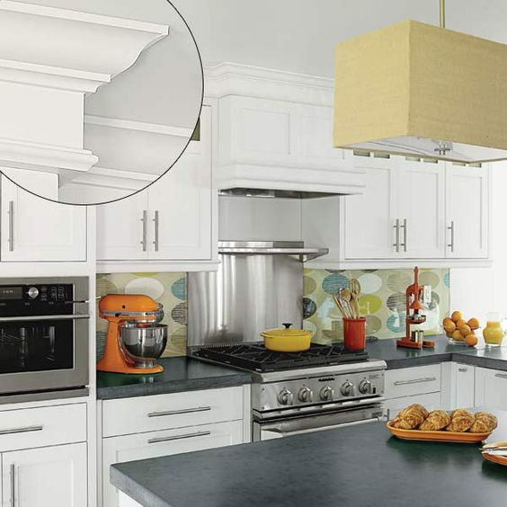 Molding For Kitchen Cabinets Tops: Pinterest • The World's Catalog Of Ideas