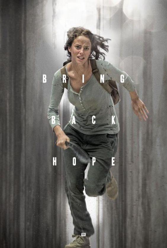 Kaya Scodelario as Teresa in a new poster for The Maze Runner