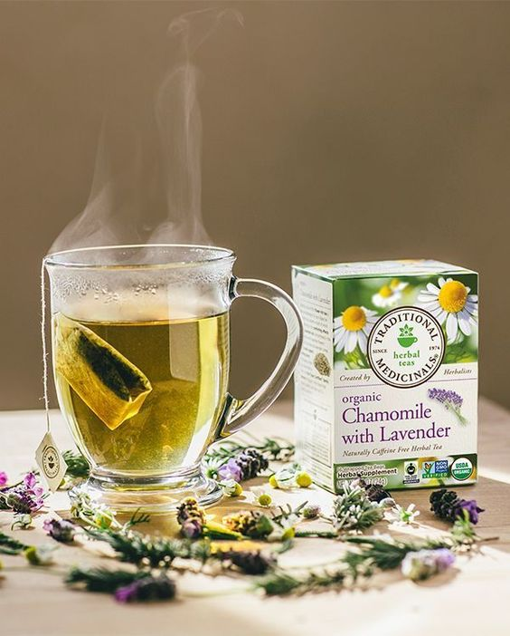 Looking for a little relaxation? Our plant-powered teas can help. Calm frazzled nerves with a soothing cup of Chamomile with Lavender tea. Created by Traditional Medicinals herbalists, especially for you.