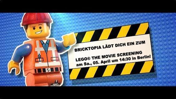 LEGO® THE MOVIE - Bricktopia lädt zum Screening am 5.4. in Berlin