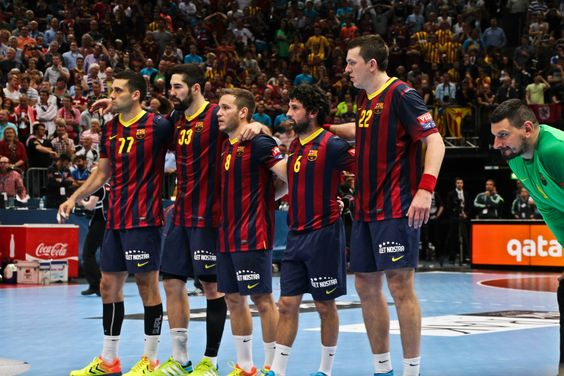 EHF Champions League 2014 Kiril Lazarov, Nikola Karabatic, Victor Tomas, Juanin Garcia, Siarhei Rutenka, Arpad Sterbik