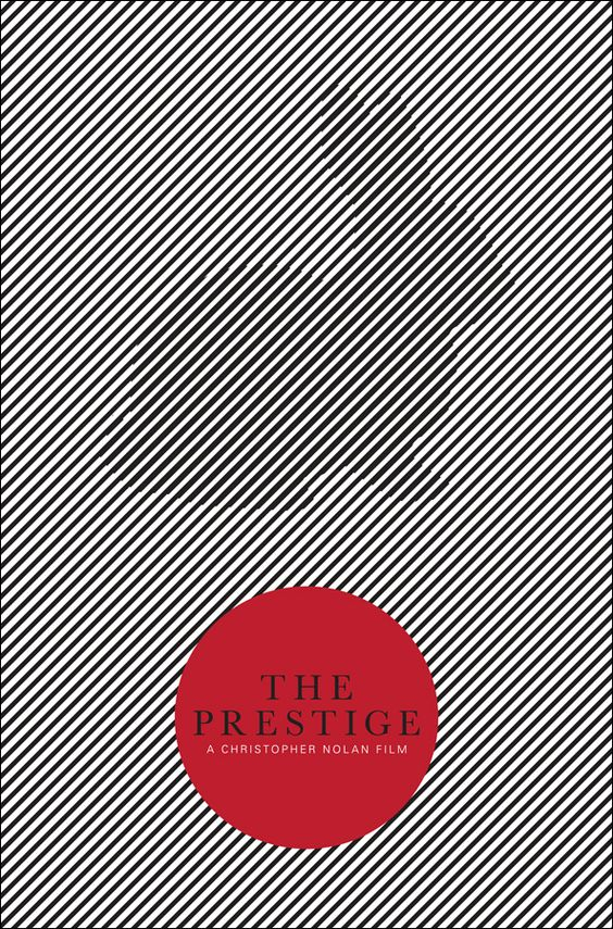 The Prestige (2006) ~ Minimal Movie Poster by Matthew Bond ~ Christopher Nolan Series #amusementphile