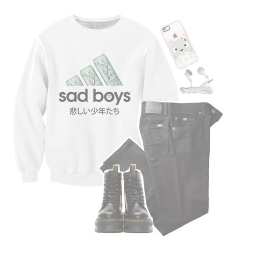 """""""*. [ the stars are going to be bright ] .*"""" by original-heartxbreak-girl ❤ liked on Polyvore featuring BRAX, Dr. Martens and Casetify"""