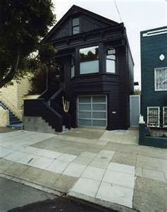 Black Victorian House
