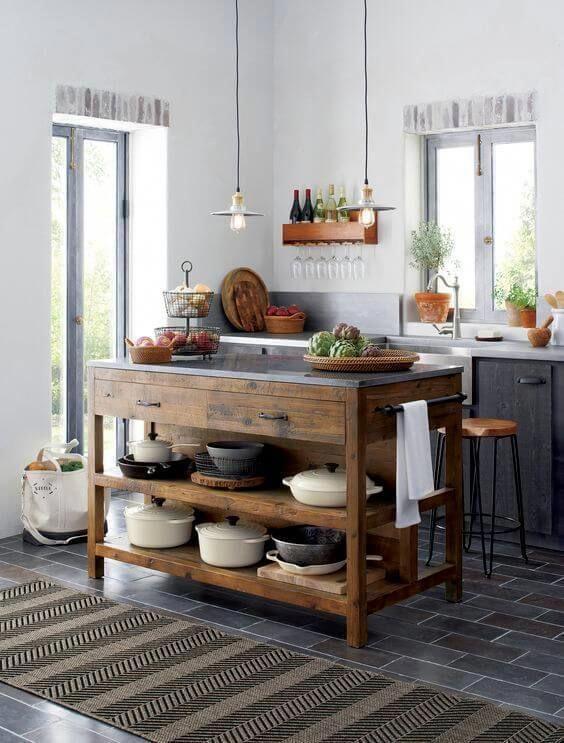 Unforgettable Movable Island Counter Kitchen Kitchenisland Kitchendesign Kitchenideas In 2020 Home Decor Kitchen Rustic Kitchen Modern Farmhouse Kitchens