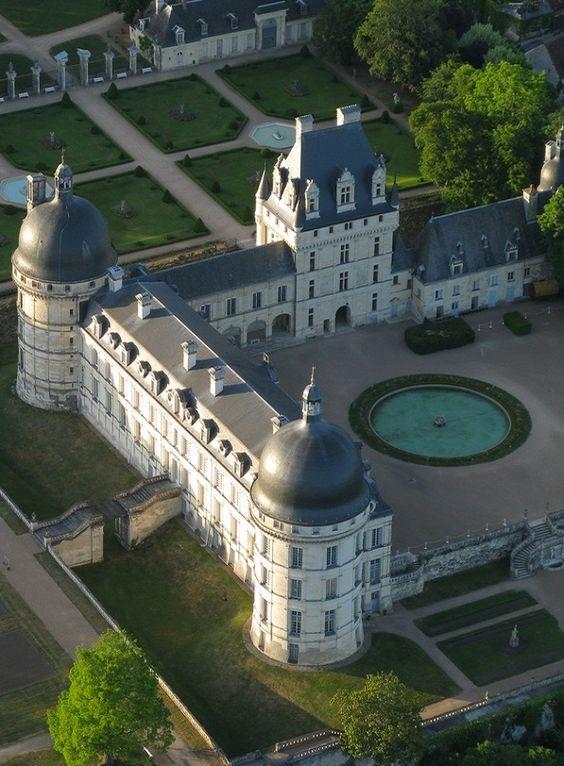 Château de Valençay, Centre France (Xe - XVIIe siècle). Style : renaissance.