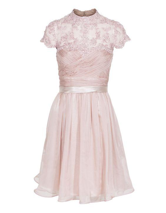 Embroidered Bead Rose bei JadesFashion Kleid