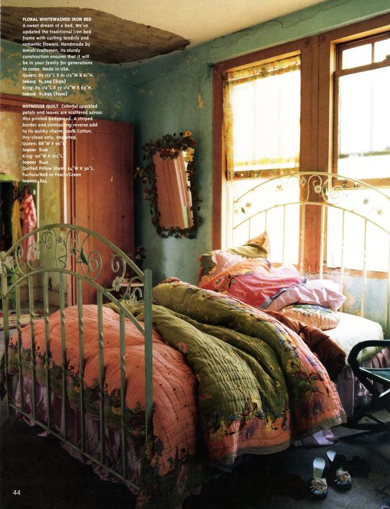 Bohemian Bedroom Romantic Color Gypsy Decor Gypsy: Stylist Rebecca Purcell, Photographer Paul Wicheloe