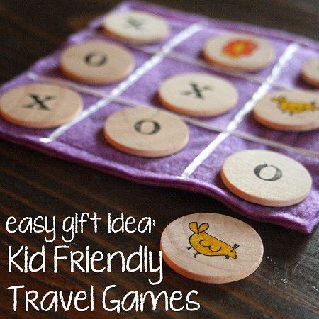 Easy Gift Idea: Kid Friendly Travel Games