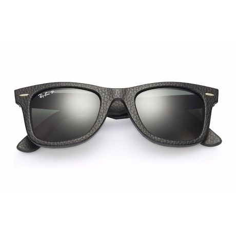 Óculos Ray Ban Wayfarer em couro new lentes