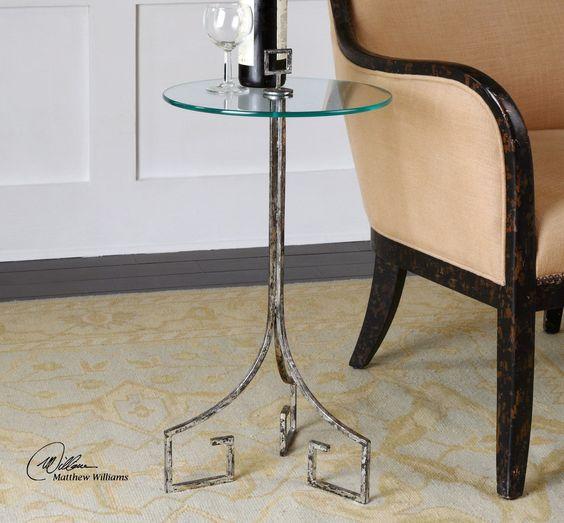 Grecia Iron End Table