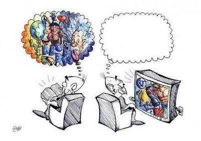 Tele vs, Libro