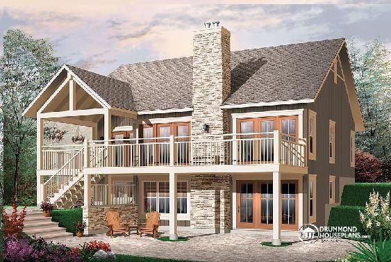 Beautiful beach houseplan with walkout basement you can for Thehousedesigners com home plans