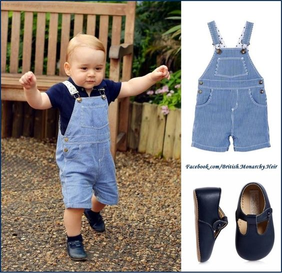 A Stylish Little Prince! For His First Birthday Photo