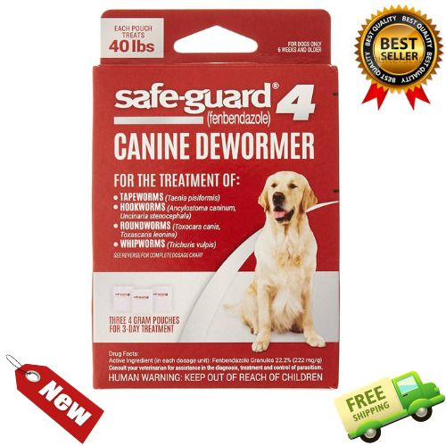 Safe Guard Dog Dewormer Large 8 In 1 Puppy Tapeworm Worms Medicine Safeguard New Excel Deworming Dogs Guard Dogs Baby Puppies
