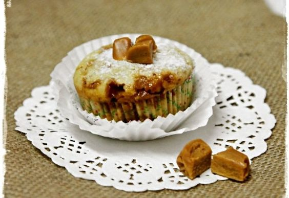 Banános-karamellás muffin