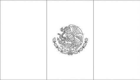 Dibujos De La Bandera De Mexico Para Imprimir Y Colorear Bandera De Mexico Dibujo Mexico Bandera Bandera Para Colorear