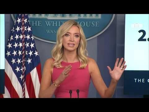 Press Secretary Kayleigh Mcenany Holds A Briefing Youtube In 2020 Kayleigh Mcenany Trump Press Secretary Youtube