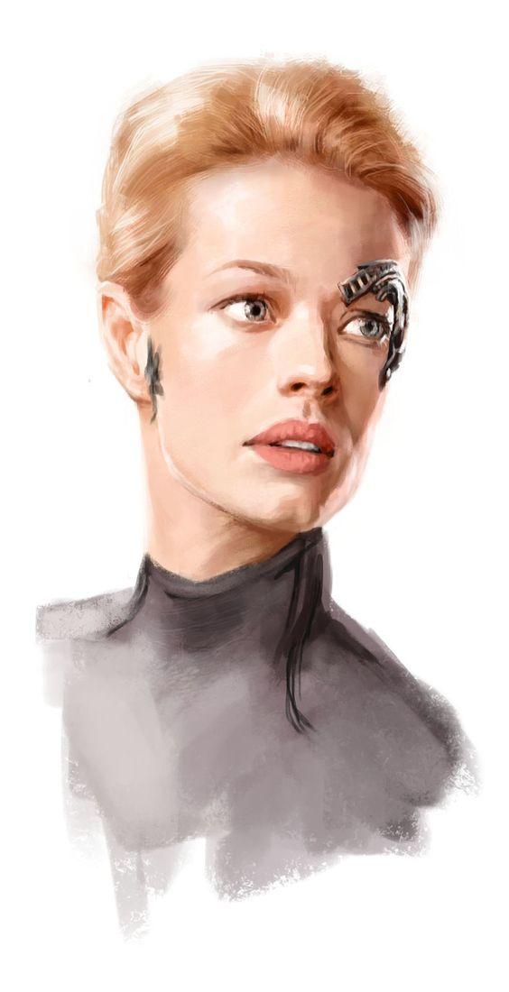 Seven of Nine - my Favourite Borg.