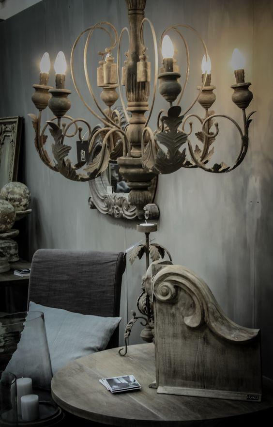 Cottages and gray on pinterest - Kroonluchter voor marokkaanse woonkamer ...